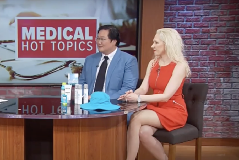 Dr. Hayre talks annual skin check with WUSA9