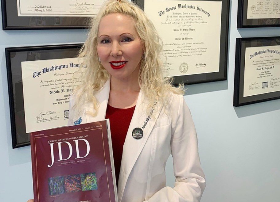 Dr. Hayre JDD Article on Oxytocin and Skin Aging